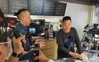 星澤國際-讓世界都看見-電視專訪節目-Olivia咖啡-游祈盛與楊含容監督製作