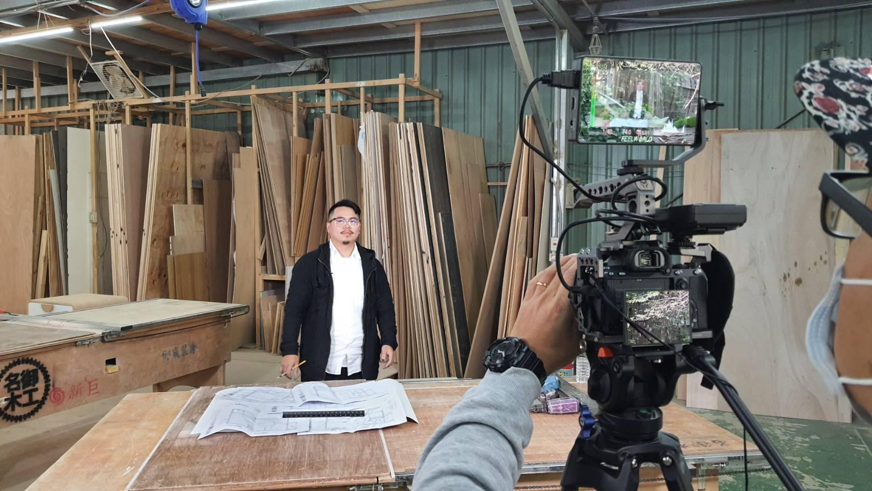 星澤國際-讓世界都看見-電視專訪節目-名御工程-游祈盛與楊含容監督製作