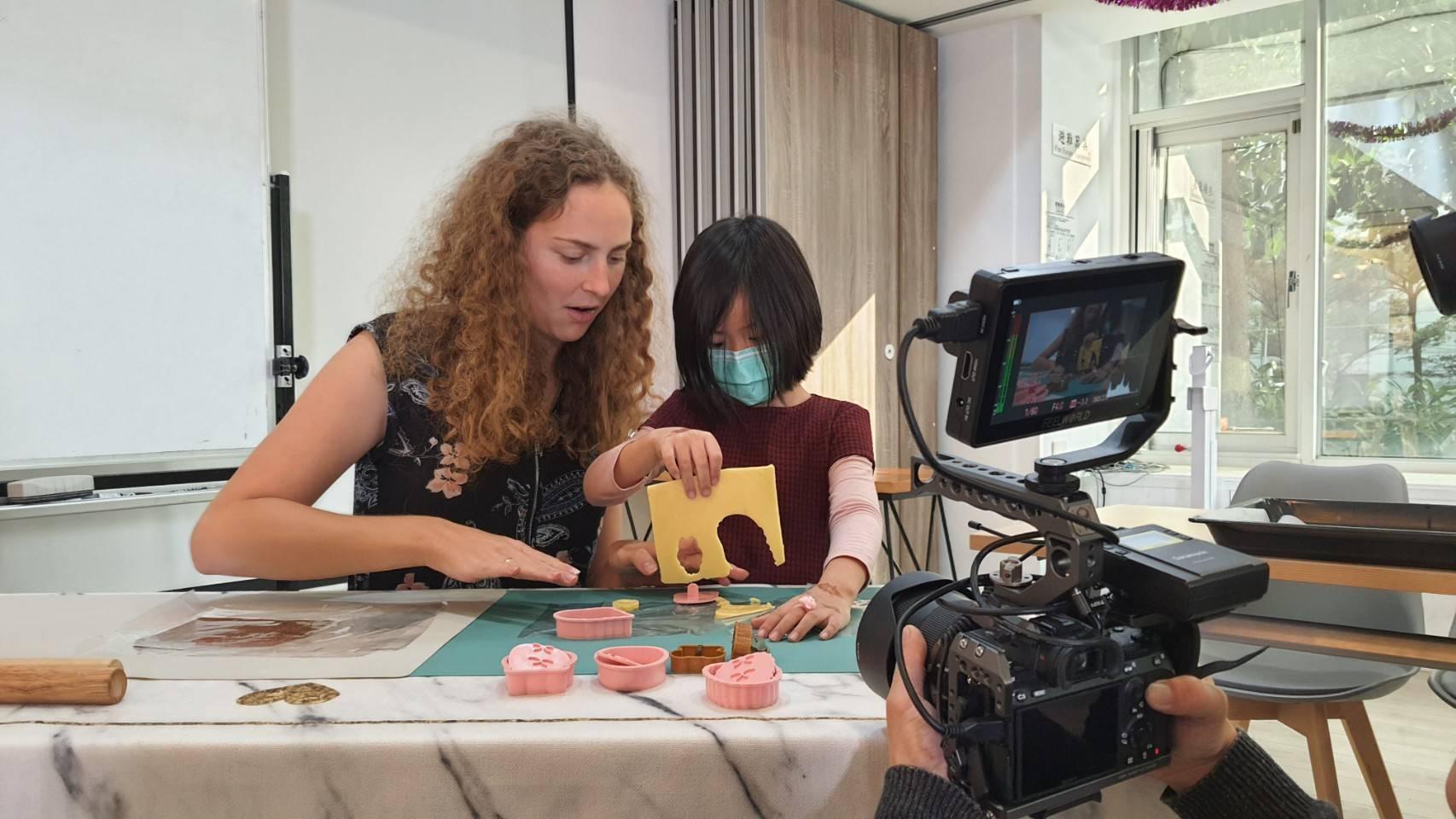 星澤國際-讓世界都看見-電視專訪節目-瑞軒國際教育中心-游祈盛與楊含容監督製作