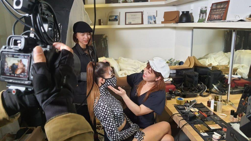 星澤國際-台灣好品牌 電視節目-專訪「巴洛克Zoe」精彩側拍花絮-游祈盛與楊含容監督製作